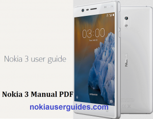 Nokia 3 User Guide