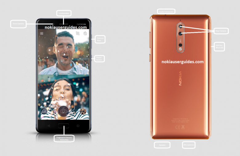 Nokia 8 User Manual